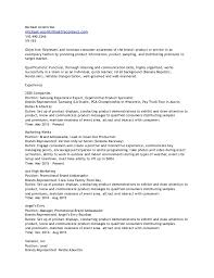 Brand Ambassador Job Description Resume by Promo Resume