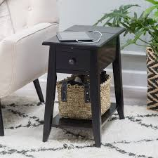 Power Chairside End Table Signature Design By Ashley Laflorn Sable Power Chair Side End