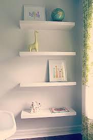 White Floating Wall Shelves by Wall Shelves Design Wooden Wall Shelves Home Depot Design 2017