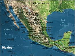 mexico map real map collection mappery