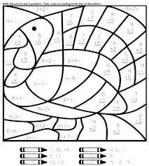 coloring math pages coloring pages math best thanksgiving math