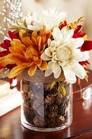 fall flowers for wedding fall container ideas simple inexpensive table decorations best
