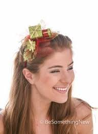 mistletoe headband brown reindeer christmas headband christmas holidays