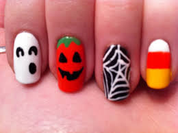 nail art halloween nail art designs