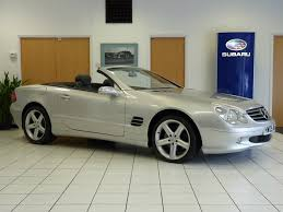 subaru convertible used mercedes benz sl class convertible 3 7 sl350 2dr in daventry