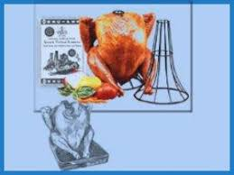 vertical turkey roasting stand the original vertical roaster spanek