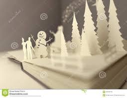 paper craft christmas story stock illustration image 62504043