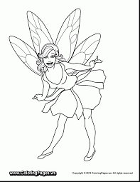 outstanding disney fairies coloring pages with fairy coloring page