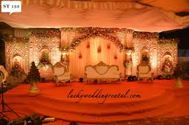 Wedding Rental Decorations Stage Decorations On Rent Lucky Wedding Rental