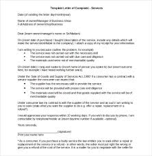 10 business complaint letter templates u2013 free sample example