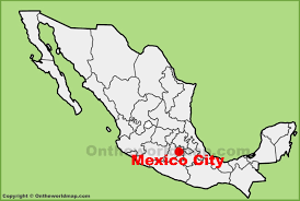 map of mixico map of mexico regions guides within city on the