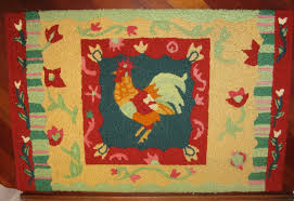Chicken Rug Chicken Collection And Other Art Carla Barrett