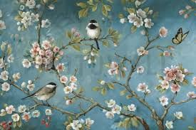 bird wallpapers blossom wall mural photo wallpaper photowall pinteres