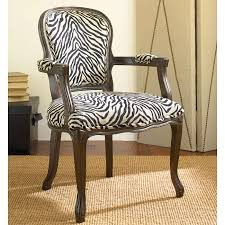 Zebra Accent Chair Popular Of Zebra Print Accent Chair Hammary 090 436