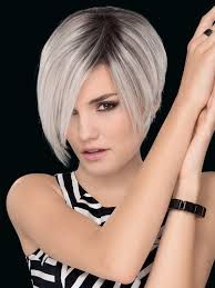 salt and pepper pixie cut human hair wigs amaze wig by ellen wille synthetic human hair blend wigs com