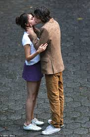selena gomez kisses timothee chalamet for new film daily mail online