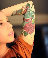 26 best flower sleeve tattoo designs forearm images on pinterest