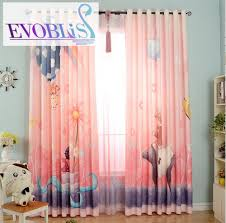 Baby Nursery Curtains Window Treatments - 3d curtains for children pink curtains kids room curtains cortinas