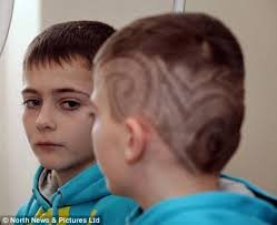 ten year ild biy hair styles parents anger at school s decision to send boy home for haircut