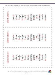 Silent Letters Worksheets Ks2 Primary Spelling Booklets Jmb Education