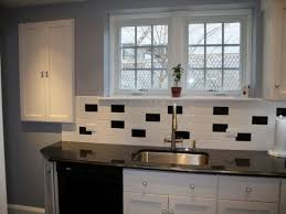 Kitchen With Dark Cabinets Black Kitchen Backsplash White Countertops With Dark Cabinets