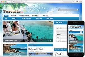 travel theme traveler wordpress travel theme build your own travel site