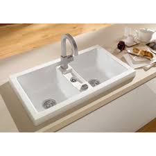 Inset Sinks Kitchen by Fresh Ceramic Kitchen Sinks And Taps 10659