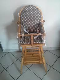 assise chaise haute coussin pour chaise haute de a sangles gris eliptyk