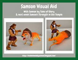 we are learning about samson today and next week the booklet is a