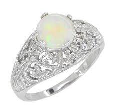 vintage opal engagement rings antique opal rings vintage opal engagement rings antique