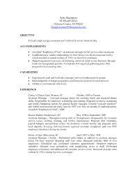 restaurant manager resume format resume for your job application