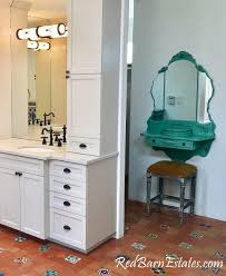 makeup vanity made to order repurposed anitque furniture and