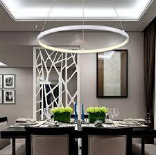 esszimmer len pendelleuchten kreative kreis ring design droplight moderne led pendelleuchte