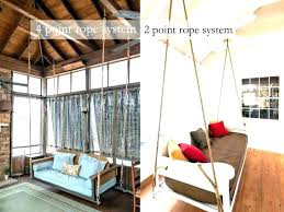 outdoor floating bed hanging bed swing outdoor hanging swings porch fascinating porch