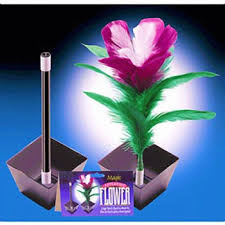 feather flower magic wand to flower trick fast shipping magictricks