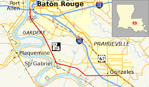 Map Of Downtown New Orleans by Louisiana Highway 30 Wikipedia