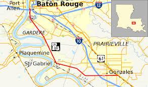 Louisiana Cities Map by Louisiana Highway 30 Wikipedia