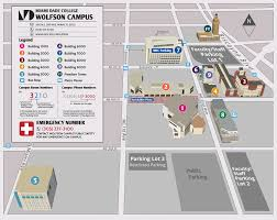 Florida State University Map by Miami Dade Wolfson Campus Map Joltframework Campus Map Directions