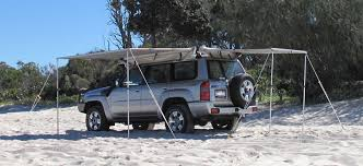 Rear Awning Polaris Innovations Awnings For Horse Floats Caravans 4wd 4x4