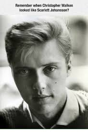 Christopher Walken Memes - remember when christopher walken looked like scarlett johansson