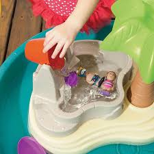 step 2 water works water table step2 splish splash seas water table with umbrella toys r us