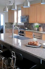 Kitchen Backsplashes With Granite Countertops by Granite Countertop Backsplash For White Kitchen Cabinets Gas
