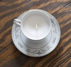 tea cup candle how to make a thrift store teacup candle domestically speaking