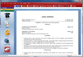 Resume Creator Software by Winway Resume Free Resume For Your Job Application