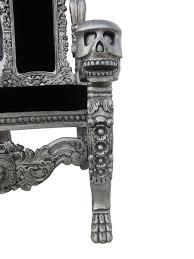 Joki Wohnzimmer Bar Roberto Geissini Thron Kingchair Totenkopf Skulls Sessel Amazon