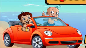 cartoon sports car side view chota bheem racing sports car chhota bheem cartoon games for