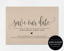 save the date invitation best 25 save the date templates ideas on save the