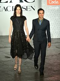 zac posen light up gown fashion week 2015 zac posen and google create an led coded gown