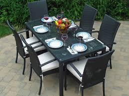 Hampton Bay Pembrey 7 Piece Patio Dining Set by Patio 62 Patio Dining Black Patio Dining Table T0rl Black