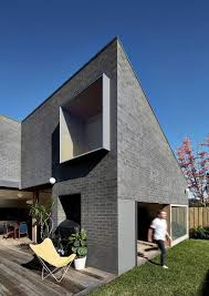 brick house black brick house features generous spaces with a high degree of